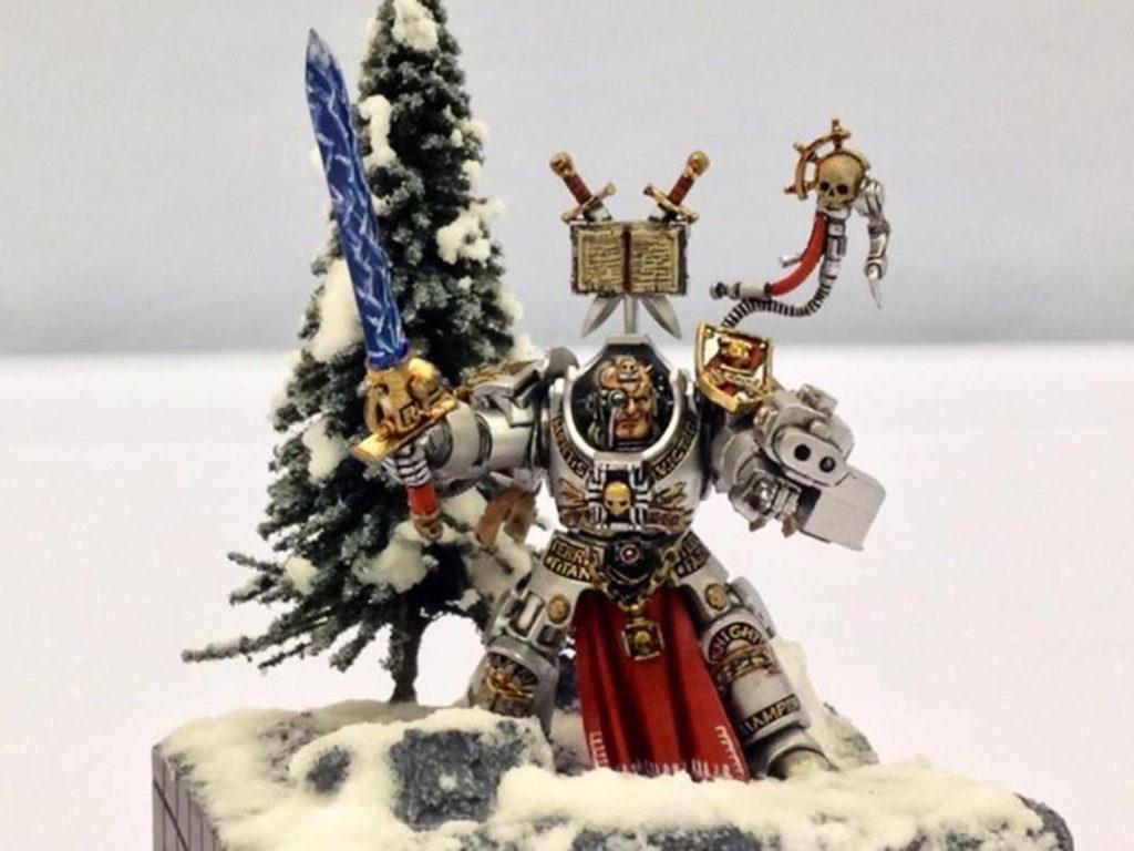Travis Blevin's miniature