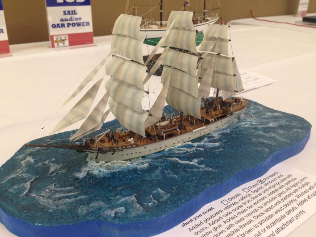Ian Dow's 1/350 Sailing Ship